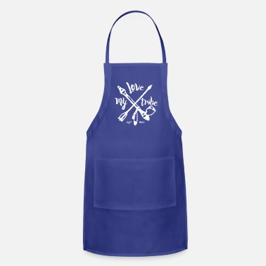 Native American native american - love my tribe - vintage - Adjustable Apron