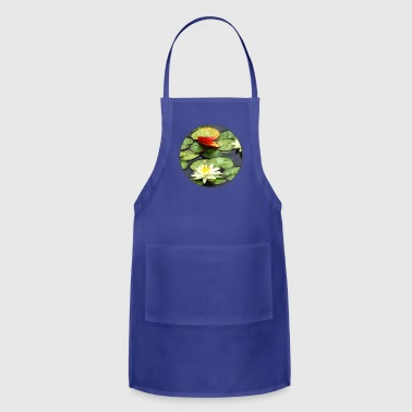 Water Lily Pond in Autumn - Adjustable Apron