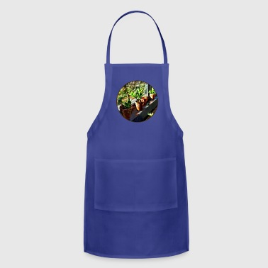 Jade Plants in Greenhouse - Adjustable Apron