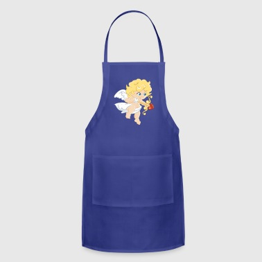Cute Cupido Love Shirt Gift Idea for men and women - Adjustable Apron