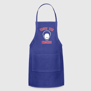 TRUST THE PROCESS TYPO - Adjustable Apron
