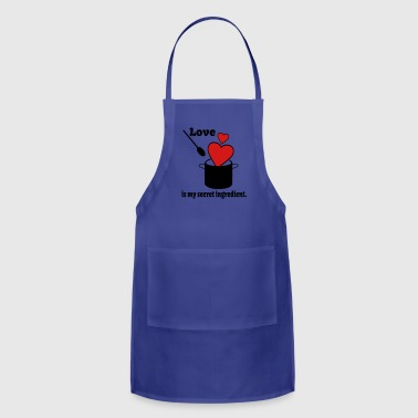 Love Cooking Saying - Adjustable Apron
