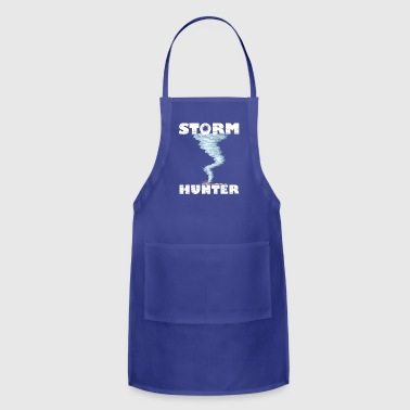 Weather Tornado whirlwind Storm Hunter cool design - Adjustable Apron