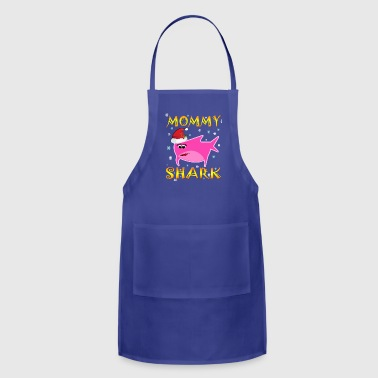 Mommy Shark Christmas Design Gift Idea - Adjustable Apron