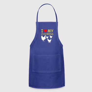 I Love my Chickens - Adjustable Apron