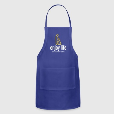Penis Enjoy Life. Eat Out More Often! - Adjustable Apron