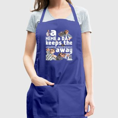 A Meme - Adjustable Apron