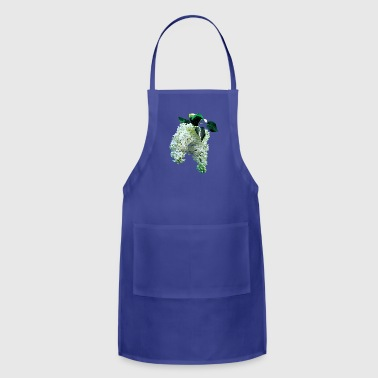 Lilac White Lilacs - Adjustable Apron