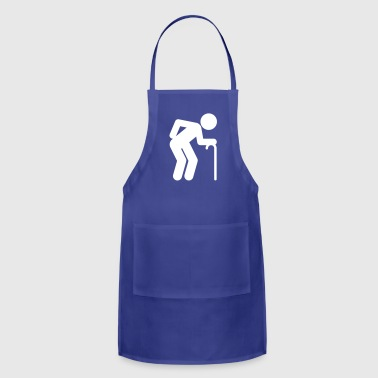 A Man Age At Retirement Age - Adjustable Apron