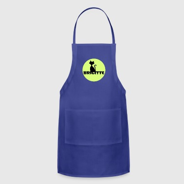 Brigitte name first name - Adjustable Apron