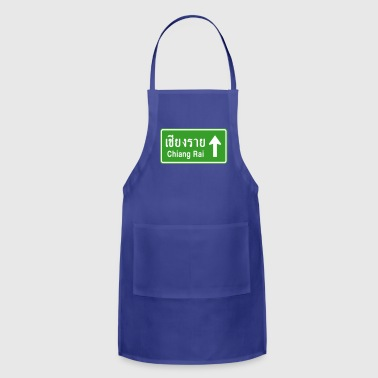 Chiang Rai, Thailand / Highway Road Traffic Sign - Adjustable Apron