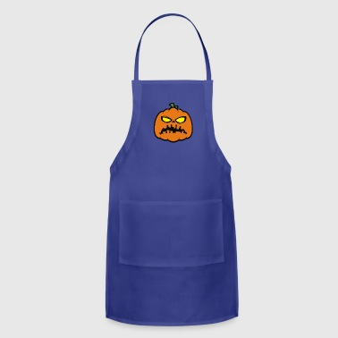 Pumpkin Zombie - Adjustable Apron