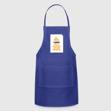 goal 11 sustainable cities and communities - Adjustable Apron