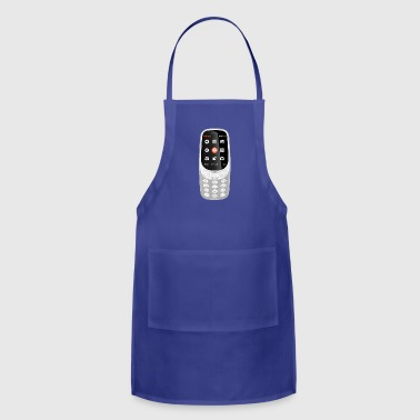 Mobile Phone - Adjustable Apron