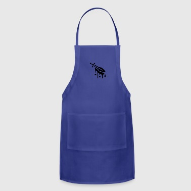 bloody sword - Adjustable Apron