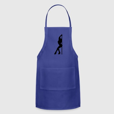 Pole Dance Dancing Dancer - Adjustable Apron