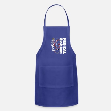 Medical Assistant Apparel Medical Assistant Tee Shirt Cute - Apron