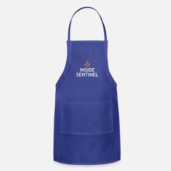 Office Aprons - LODGE INSIDE SENTINEL COLLECTION - Apron royal blue
