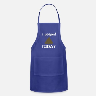 Funny Greek i pooped Today - Apron