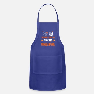 Kitchen Knives Knives And Fire - Apron