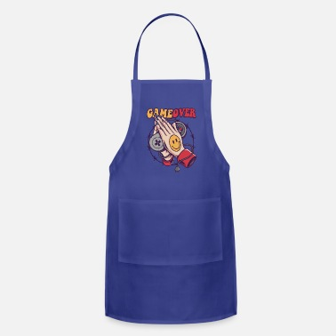 Game Smiley Game Over - Apron