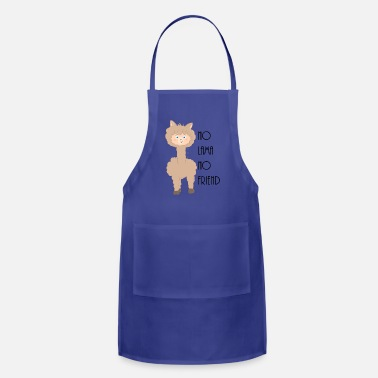 Smooch No Lama No friend Drama Lama Alpaca - Adjustable Apron