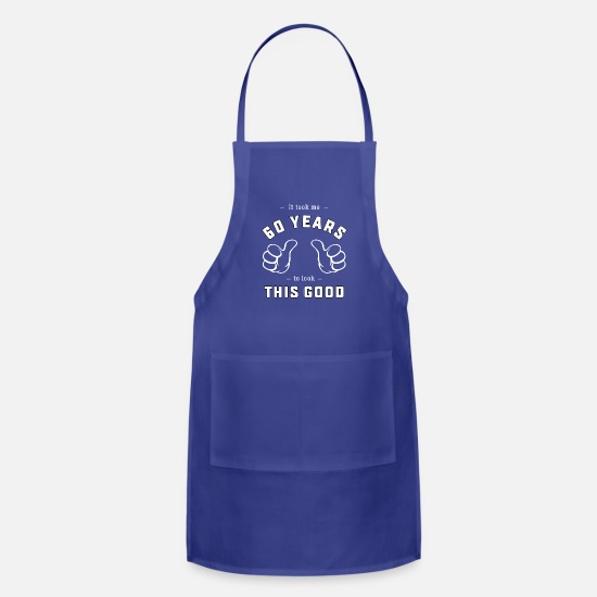 Funny 60th Birthday Gift For Men And Women Apron
