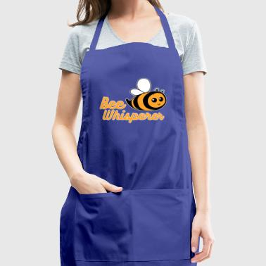 Bee lover bee whisperer nature fly insect funny - Adjustable Apron
