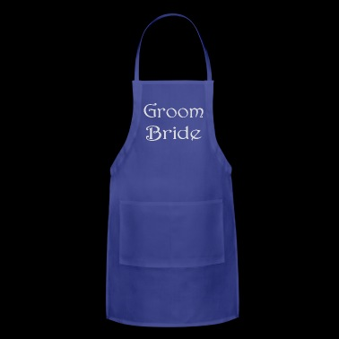 Bride Groom - Adjustable Apron