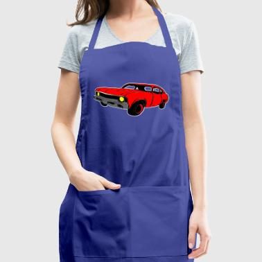 red car - Adjustable Apron