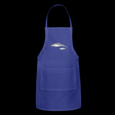 Long-beaked dolphin - Adjustable Apron