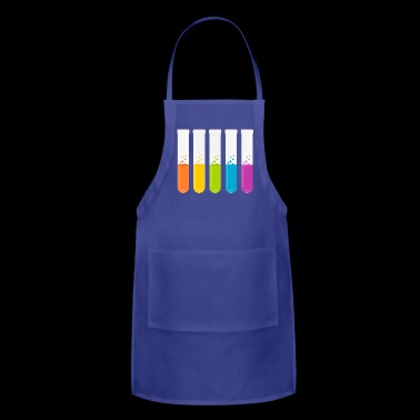reagenzglas flask tube experiment chemistry chemie - Adjustable Apron
