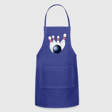 Bowling Bowl Super Ball Gift Present - Adjustable Apron