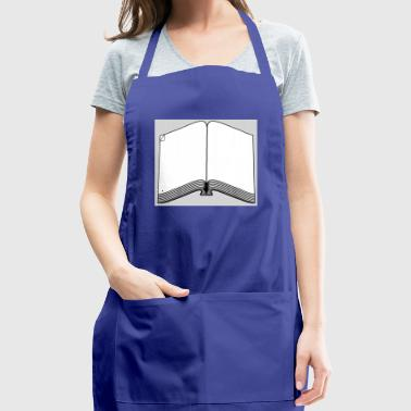 *IMPORTANT PAGE* BOOK WITH DOG-EARED PAGE - Adjustable Apron