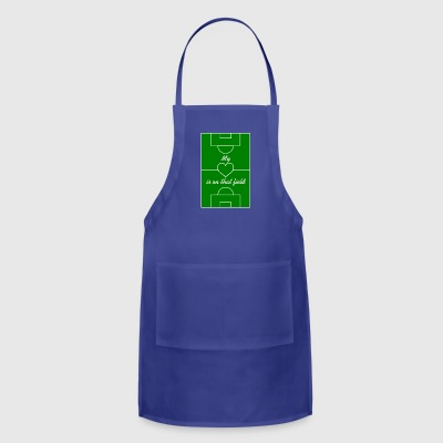My Heart Is On That Field - Adjustable Apron