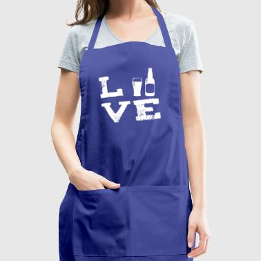 beer alcohol beer brewers brewer brewer party love - Adjustable Apron