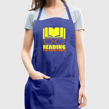Reading Is My Super Power - Adjustable Apron