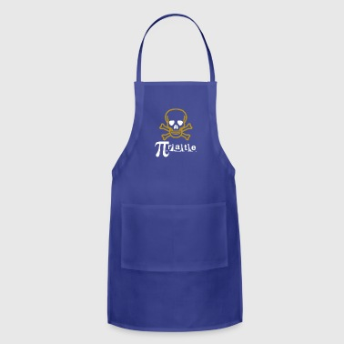 pirate gift for math lover teacher - Adjustable Apron