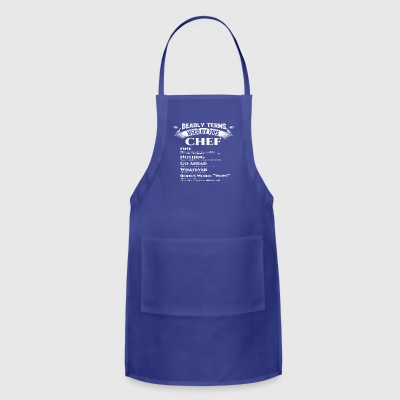 Best Birthday Gift Chef Cooker Love Foodie Grill - Adjustable Apron