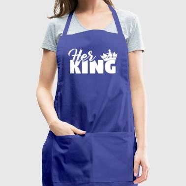 Love Relationship Husband Wife Valentine's Day - Adjustable Apron