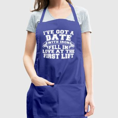 Date with a dumbbell - Adjustable Apron