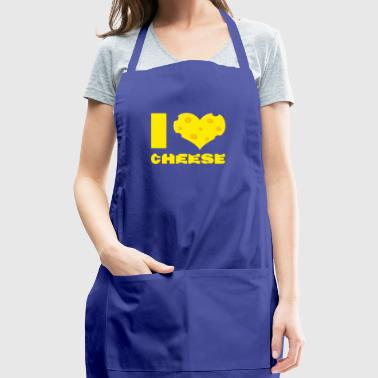 i love cheese - Adjustable Apron