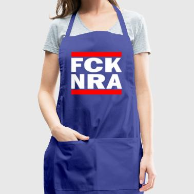 Fuck NRA against NRA Weapons Trump America Idea - Adjustable Apron
