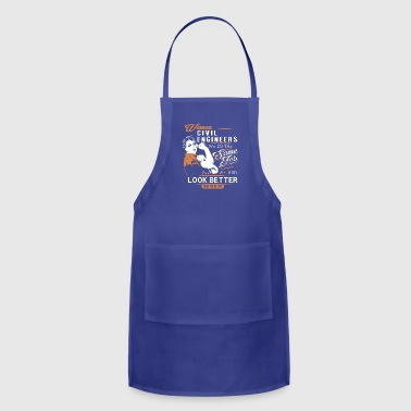 Women Civil Engineers T Shirt - Adjustable Apron