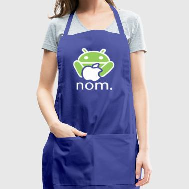 Andy Nomming on an Apple - Adjustable Apron
