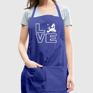 Love Europe - Adjustable Apron