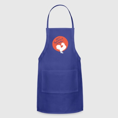 The 2017 Rooster Tee Shirt - Adjustable Apron