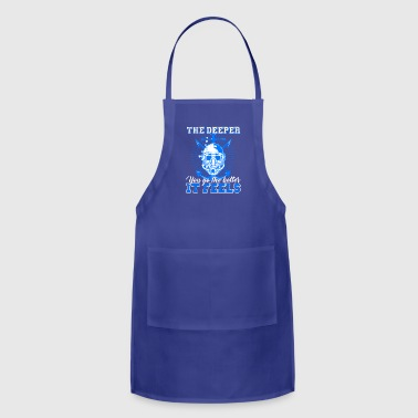 Scuba Diver Shirt - Adjustable Apron
