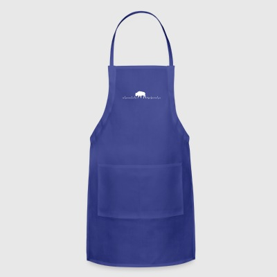 Bison heartbeat lover - Adjustable Apron