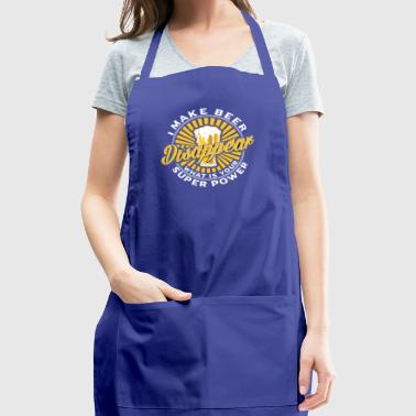 I make beer disappear - Adjustable Apron
